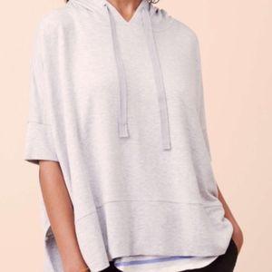 Lou & Grey signature soft sleeveless hoodie